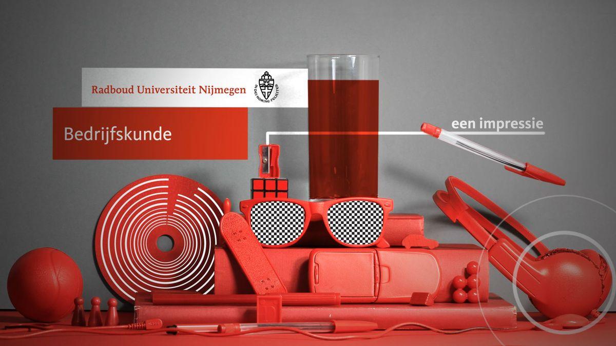 Bedrijfskunde Radbout Universiteit